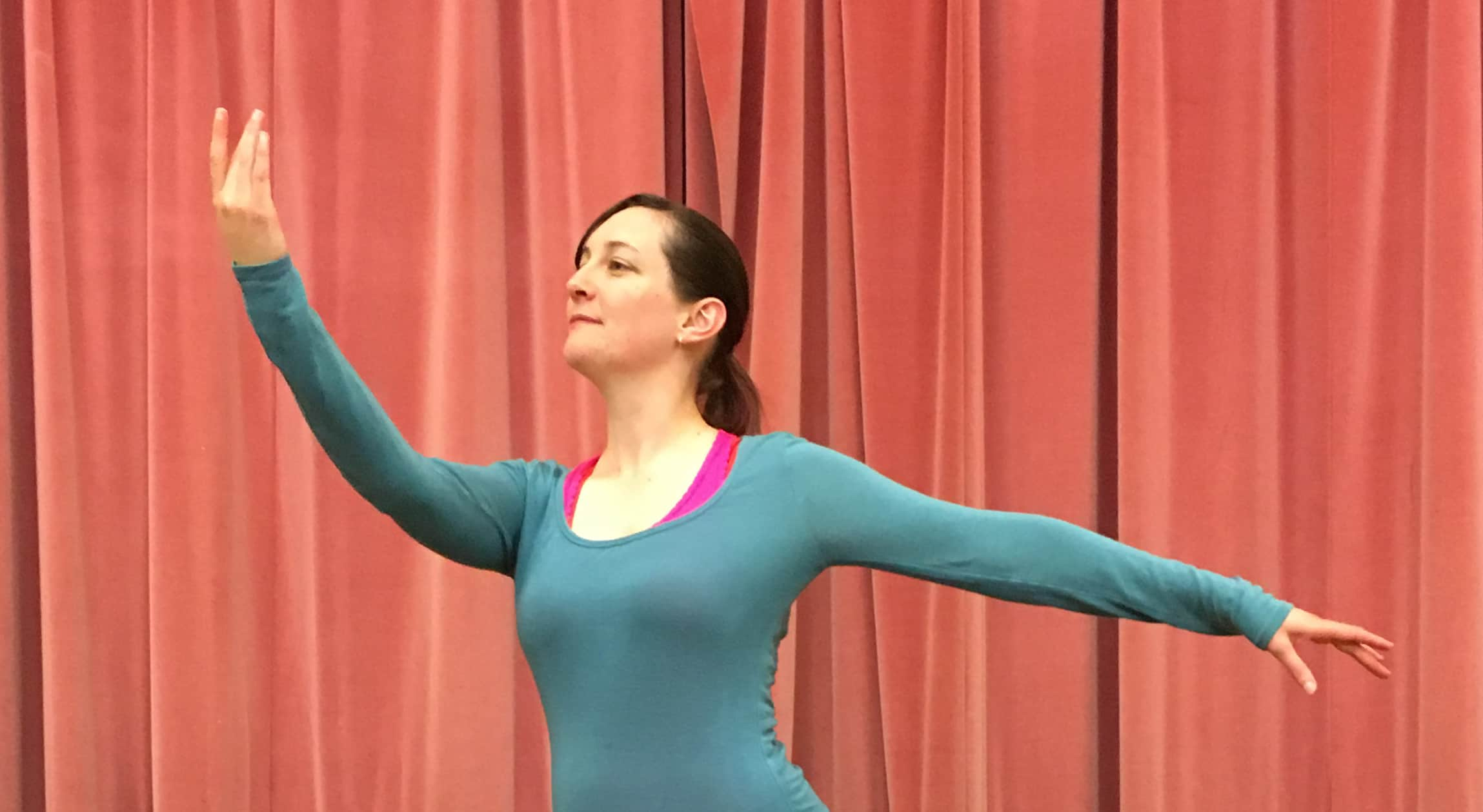 Elissa Sara needed ankle exercises to rehabilitate her achilles, and returning to ballet was the perfect solution