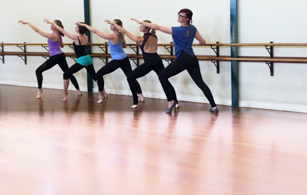 Jessica McGaffin found that adult dance classes in ballet and jazz helped her find more freedom