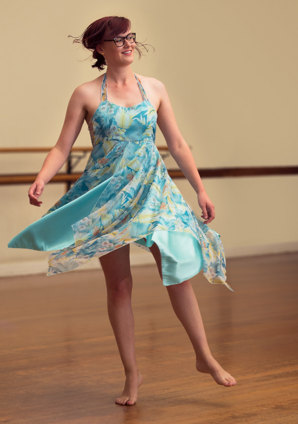 Jessica McGaffin loves the freedom of dance classes for adults at Move Through Life Dance Studio