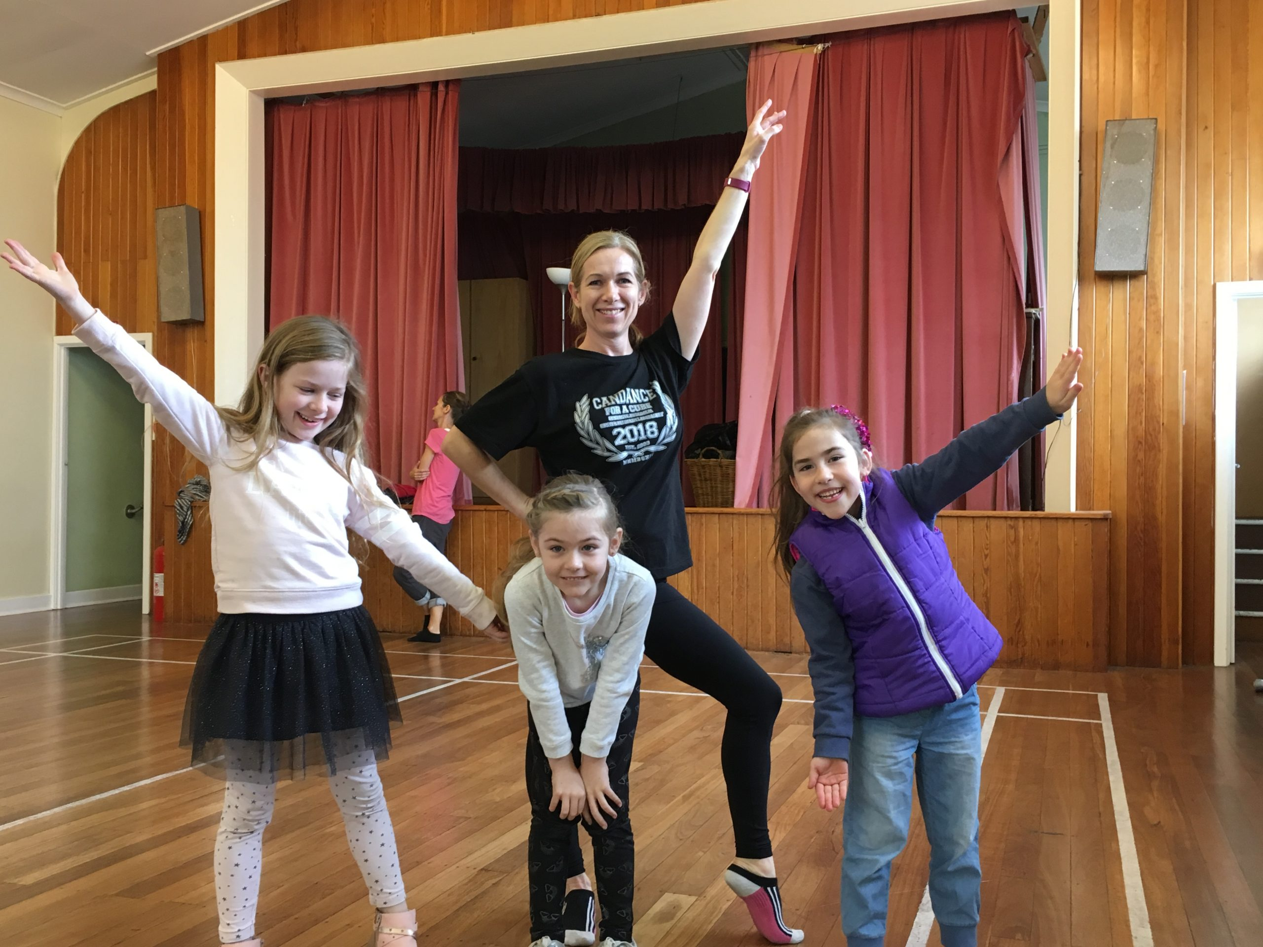 Mother of three Mardi Daniells loves her Monday morning ballet class with Move Through Life Dance Studio