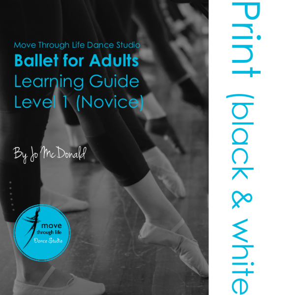 Ballet guide - printed in black and white